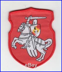Belarusian boy scouts in exile patch Knight Scout (Pahonia) highest rank badge