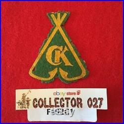 Boy Scout 1930's Camp Kickapoo Oklahoma County Council Felt Patch