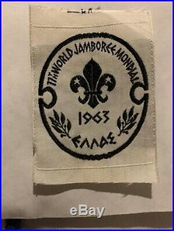 Boy Scout 1963 World Scout Jamboree Cloth Patch Lot 2