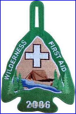 Boy Scout 2006 Philmont Wilderness First Aid Arrowhead Uniform Patch Badge BSA