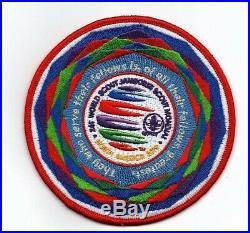 Boy Scout 2019 World Jamboree Cultural Celebrations Team Thank You Patch RARE