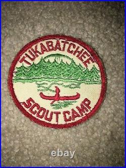 Boy Scout BSA Camp Tukabatchee Area Alabama Alibamu 179 Cut Edge Council Patch