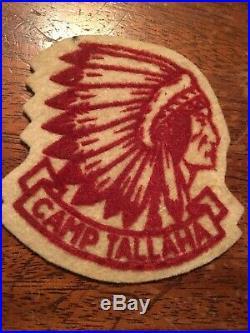 Boy Scout Camp Tallaha felt patch, Delta Area Council Rare