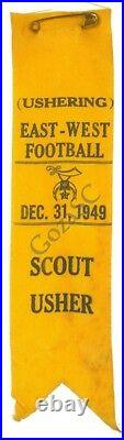 Boy Scout College Football Ushering Patches OA BSA WWW NCAA
