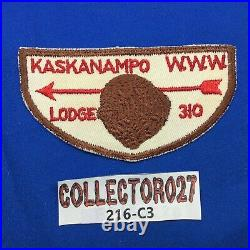 Boy Scout Kaskanampo Lodge 310 F1b Order Of The Arrow Flap Patch