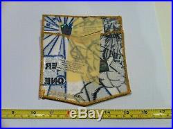 Boy Scout Order Of The Arrow Unami Lodge 1 NOAC 2009 Delegate Flap Patch Set