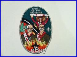 Boy Scout Order Of The Arrow Unami Lodge 1 Spirit Of The Founding Jacket Patch