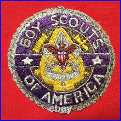Boy Scout Vintage National President Boy Scouts Of America Patch VERY RARE