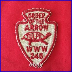 Boy Scout Vintage OA Tulpe Lodge 245 A1a Order Of The Arrow Patch