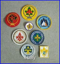 Boy Scout of Balkan countries patch lot / badges LAST ONES