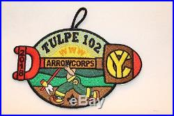 Boy Scouts 2018 Tulpe 102 Arrowcorps @ Camp Yawgoog patch