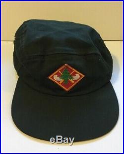 Boy Scouts Region Seven Wilderness Canoe Base Diamond Hat Patch On Hat Wis Used