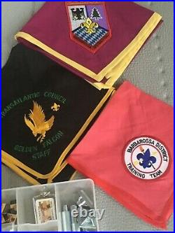 Boys Scouts of America Black Eagle Lodge 482 Patches, Neckerchiefs, and Kit