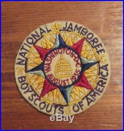 Boys Scouts of America National Jamboree Patch 1935 Washington DC