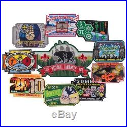 Bsa Boy Scout 2017 National Jamboree Daily Patch Of The Day 10 Piece Color Set