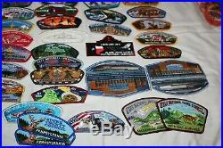 Bsa Boy Scouts Lot Of 81 Csp Council Shoulder Patch Lot