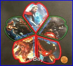 Bsa Boy Scouts Of America 2015 23rd World Jamboree Marvel Avengers 5-patch Set