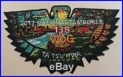Bsa Indian Nations Oa Ta Tsu Hwa 138 2017 Jamboree 7-patch Headdress Please Read