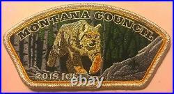 Bsa Montana Council Apoxky Aio Oa 300 Lynx 2018 5-patch ICL Donor Set 175 Made
