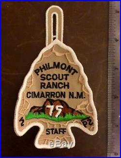Bsa Philmont Staff 75th Anniversary Patch (new, Mint)