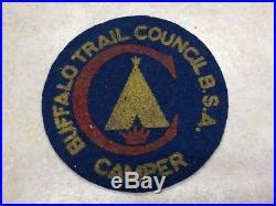 Buffalo Trail Council Felt Camp Patch