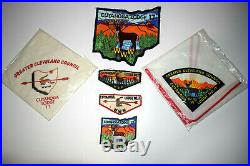 CUYAHOGA LODGE 17 Patches and Neckerchief Set Backpatch Cleveland Ohio