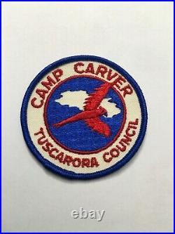 Camp Carver Tuscarora Council North Carolina (very Rare Camp Patch)
