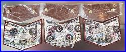 Coosa Lodge 50 NOAC 2012 Lot of 3 Flintstones Rubber OA Flaps and Pocket Patches