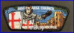 Denver Area Council Oa Lodge Tahosa 383 2017 Jamboree Flap Monty Python 9-patch