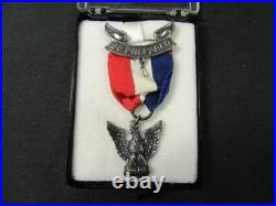 Detroit 1960's Eagle Scout's Medal, Paperwork, Patches, & Other Items bs1124