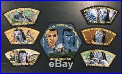 Direct Service Belize 2010 Boy Scout Jamboree 7-patch Set Avatar Disney