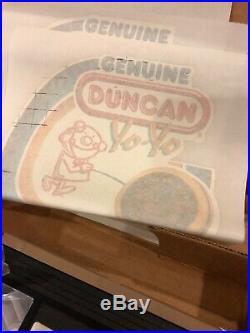 Duncan Yo Yo Boy Scout Vintage Box Of Goodies Iron Ons Patches VCR Tape 1988