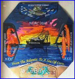 Echockotee Oa Lodge 200 North Florida Fl Guy Harvey 2018 Noac 5-patch Contingent