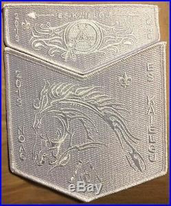 Es-kaielgu Oa Lodge 311 Bsa Inland Northwest 2018 Noac 2-patch Ghost Contingent