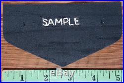Esselen Lodge 531 Bullion Patch OA Flap SAMPLE, Blue