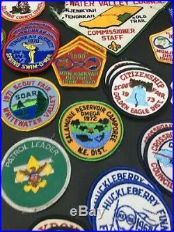 GIANT Lot of 99 Vintage Boy Scouts of America BSA Patches and Stickers Must See