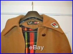 Gloverall Boy Scouts Camp Fire Coat Cape Jamboree Patches S Med Vintage Uniform