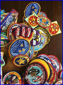 Huge Big Large Lot of 700 Boy Scouts of America Patches Pins Badges BSA READ