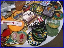 Huge Lot Boy Scout Patches Pins Bolo Ribbons Bsa-order Of The Arrow-oyo