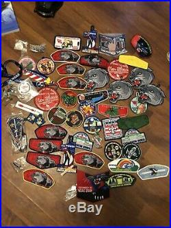 Huge Lot Of Nice Condition Boy Scout Patches NOAC Camporee Unique Ones Rares