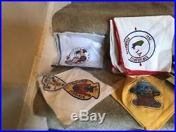 Huge Lot Scout Boy BSA Order Arrow Vintage Neckerchief Patch Slide