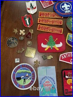 Huge Lot Vintage 1950s-60s BSA Patches, Pins Merit Badges Rare Lot 200+ Rare