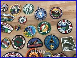 Huge Old Vintage Patches Lot 1930s, 40s, 50s, 60s, etc BSA and others Very COOL