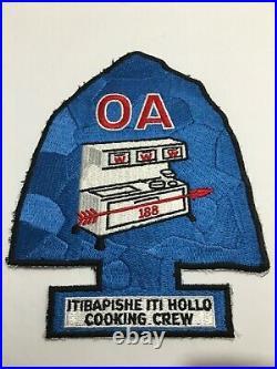 Itibapishe Iti Holló Lodge 188 Cooking Crew Jacket Patch