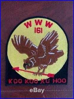 Koo Koo Ku Hoo Lodge 161 Jacket Patch Virginia Oa Mint