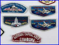 Lot 30 Boy Scouts Patches BSA Fairfax Camporee Vernon Klondike National WIPIT