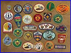 Lot Of 76 Boy Scout Patches And other Items