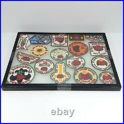 Lot of 17 BSA Boy Scout Greater Roseland District Chicago Area Council Patches
