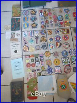 Lot of (BSA)Boy Scouts of America 100 Patches council jamboree books etc