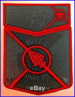 Marnoc Oa Lodge 151 Bsa Great Trail Oh Flap 2018 Noac 2-patch Contingent 50 Made